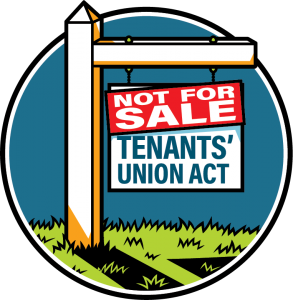 Tenants' Union ACT not for sale!